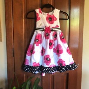 La Princess Dresses - Little girl party dress sz 5